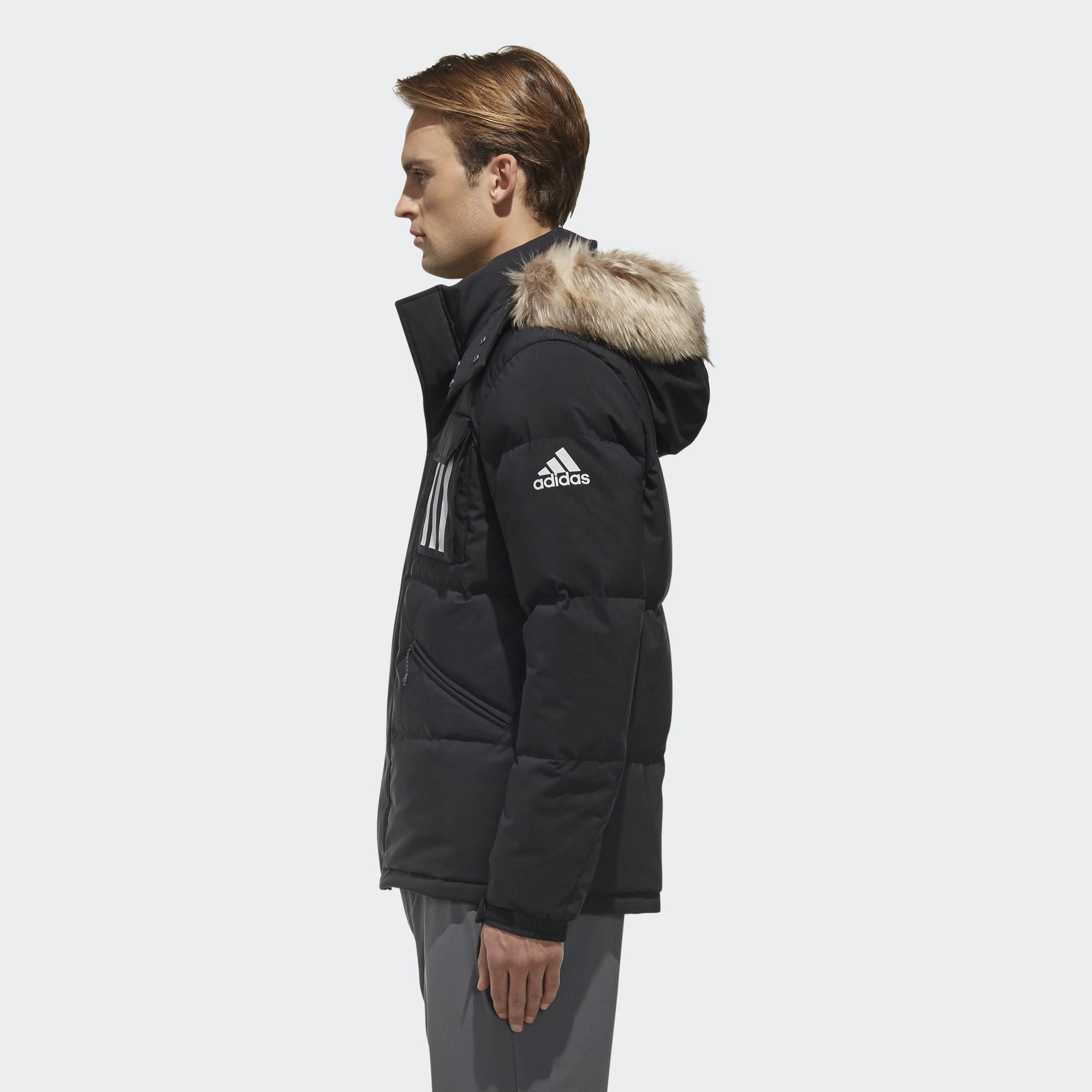 Пуховик 3-Stripes Puffa DT7917 adidas Performance - Украина ... 1fe7b3004fe