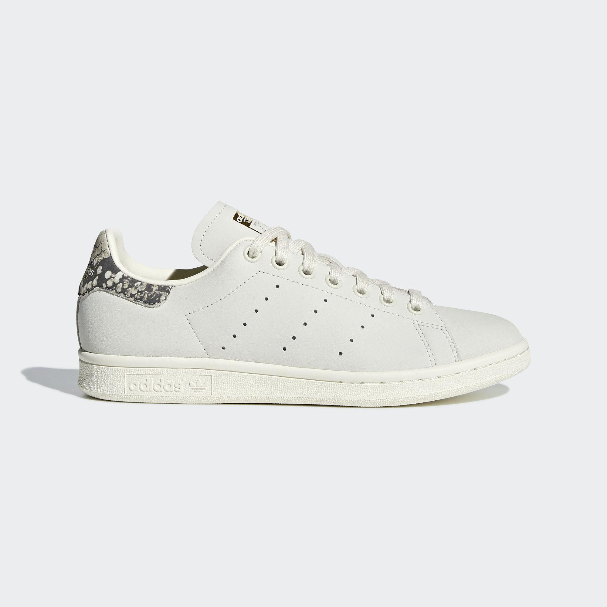 Adidas Stan Smith CF White Gold Logo All Size Mens