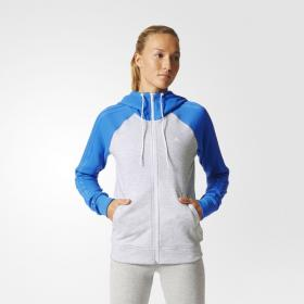 Толстовка Womens Essentials 3-Stripes Adidas