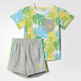 Комплект Kids: футболка и шорты Beach Adidas