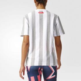 Женская футболка Adidas Stellasport Hey Girl