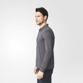 Рубашка-поло с длинным рукавом Pique M AX5995