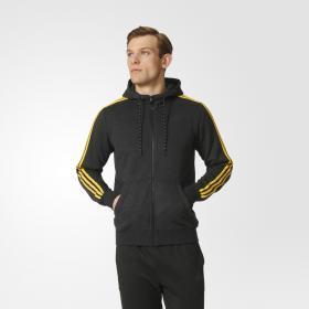 Флисовая толстовка Sport Essentials 3-Stripes M AY5482