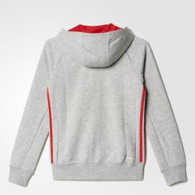 Толстовка ESSENTIALS MID 3-STRIPES HOODIE Kids Adidas