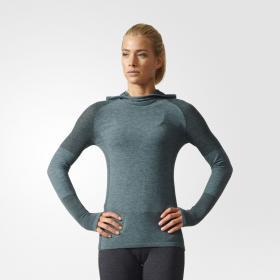 Лонгслив для бега Primeknit Wool Hooded W AZ2877