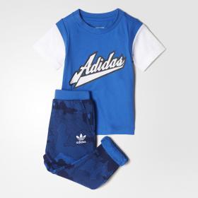 Комплект: футболка и брюки Pants K BJ8437