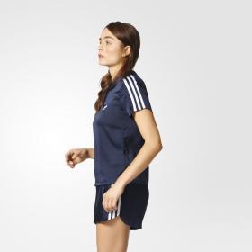 Футболка-поло 3-Stripes W BK2322