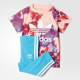 Комплект: футболка и леггинсы Trefoil K BK5755