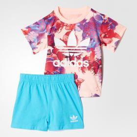 Комплект: футболка и шорты Trefoil K BK5756
