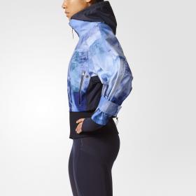 Куртка для бега Trail Soft Shell Stone Print W BQ8314