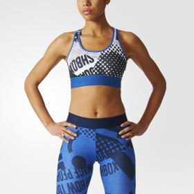 Спортивный бюстгальтер adidas STELLASPORT Printed W BQ8978