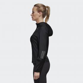 Куртка для бега Response Hooded W BR0715