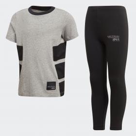 Комплект: футболка и шорты EQT K CD8425