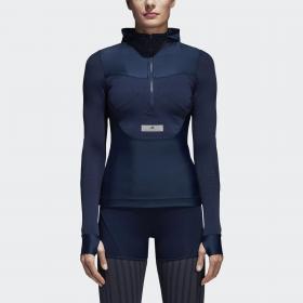 Куртка для бега Hooded W CG0135