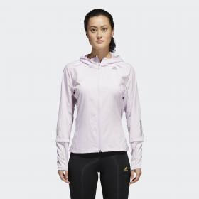 Куртка для бега Response Hooded W CW1684
