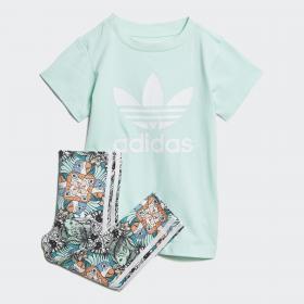 Комплект: футболка и леггинсы Zoo