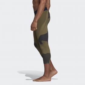 Укороченные леггинсы Alphaskin Tech Camouflage Graphic