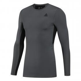 Компрессионная футболка WOR COMPR LO SLEEVE SOLID DU2161