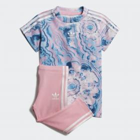 Комплект: футболка и леггинсы Marble