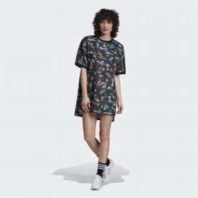 Платье-футболка Floral