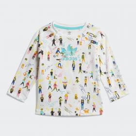 Комплект: футболка и комбинезон
