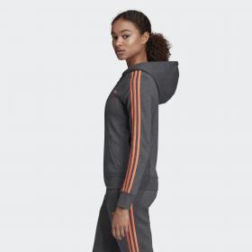 Флисовая худи Essentials 3-Stripes