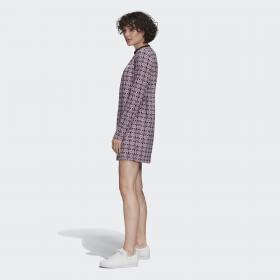 Платье Trefoil Allover Print