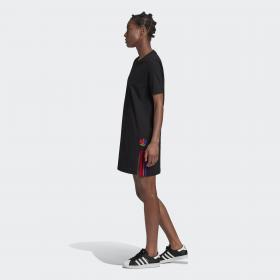 Платье-футболка Adicolor 3D Trefoil