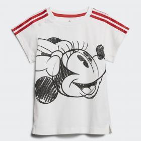 Летний комплект: платье и леггинсы Minnie Mouse