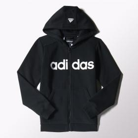 Толстовка ESSENTIALS LINEAR BRUSHED HOODIE Kids Adidas