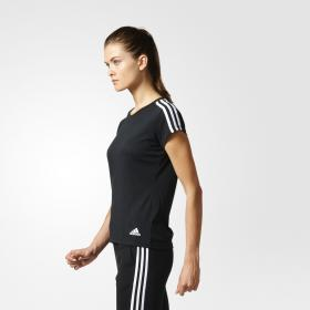 Футболка Essentials 3-Stripes W S97183