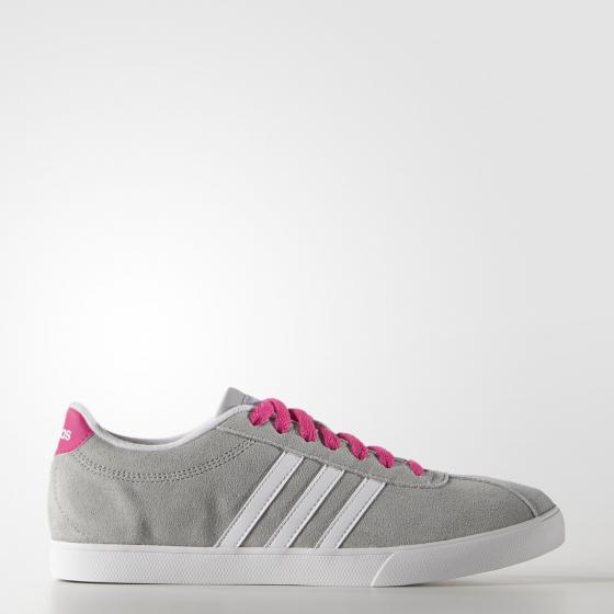 женские кроссовки adidas neo courtset