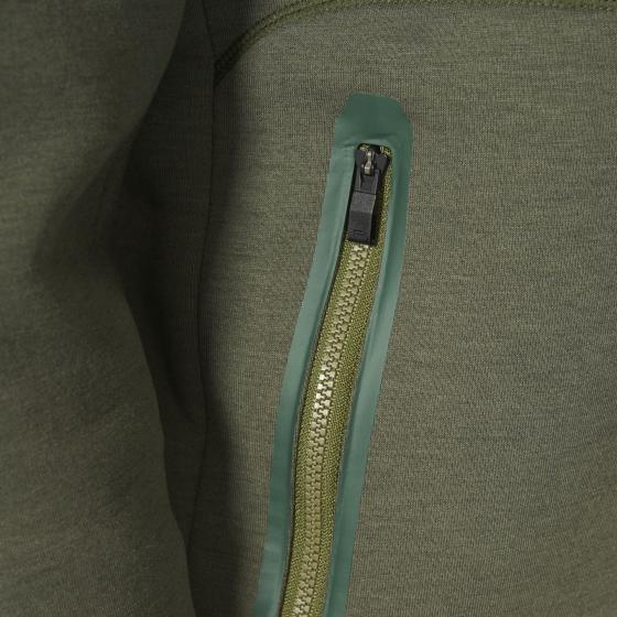 Джемпер с кап на молнии M AX6053