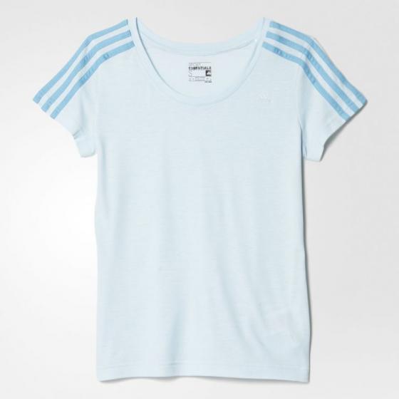Женская футболка Adidas Essentials 3-Stripes