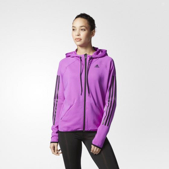 Худи женская GYM FZ HOODY Adidas