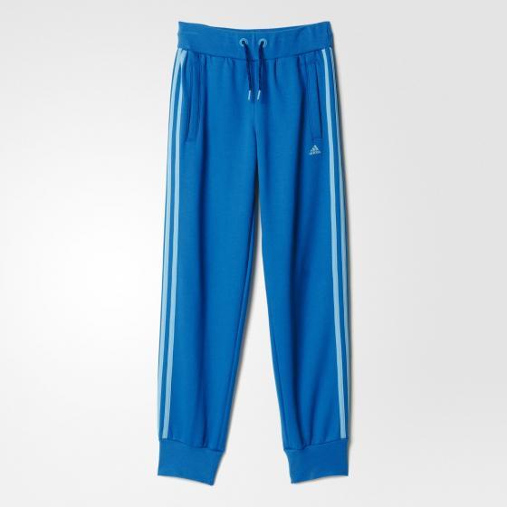 детские брюки для девочек adidas essentials 3-stripes