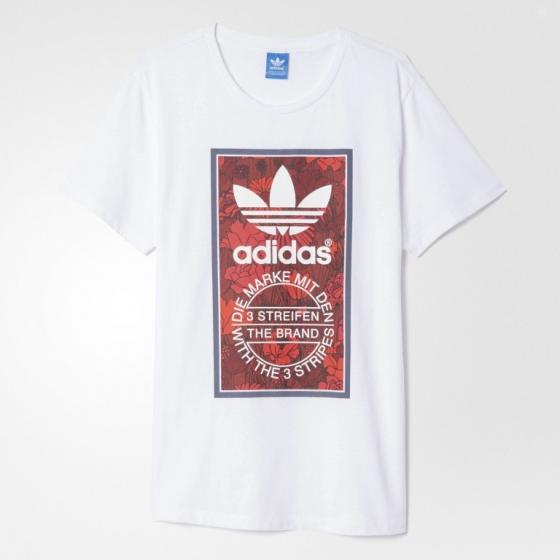 Женская футболка Adidas Originals Tongue Label Boyfriend
