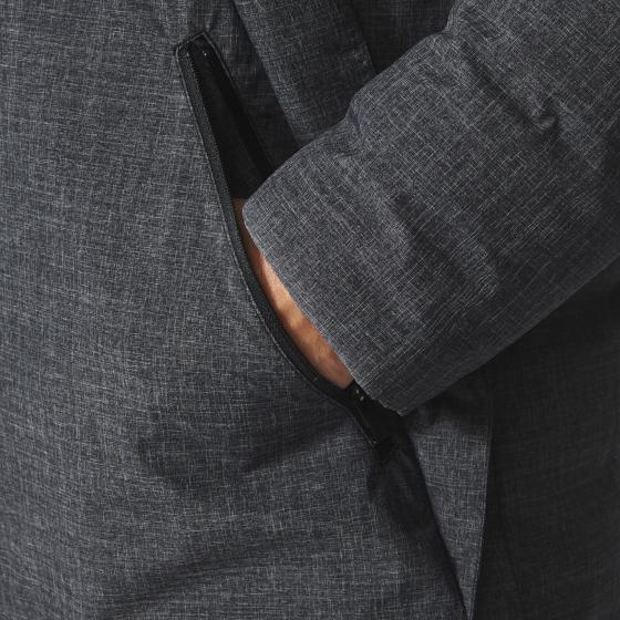 Утепленное пальто Casual M BR9446