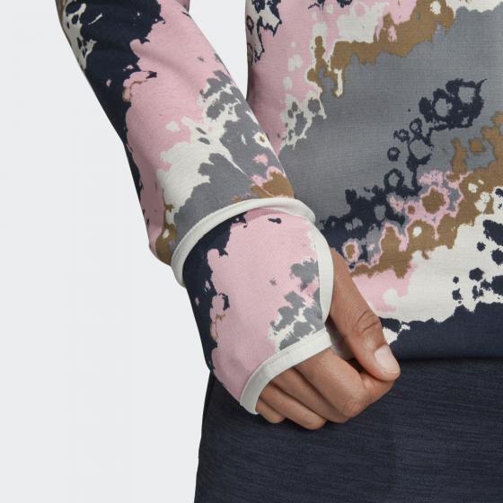 Худи adidas Z.N.E. Fast-Release Allover Print