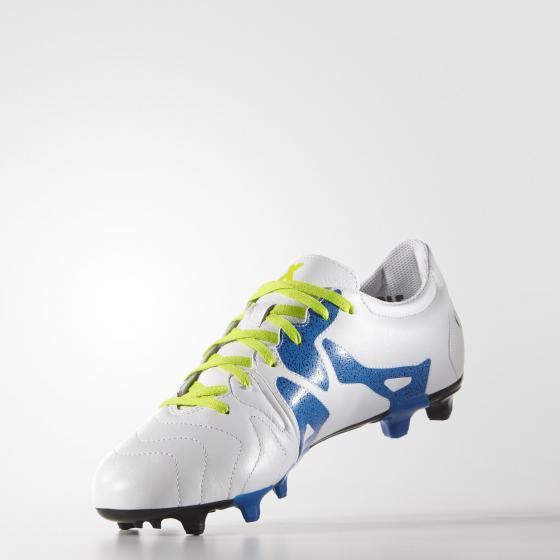 Мужские футбольные бутсы adidas x 15.3 fg/ag leather